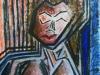 Redheaded Woman in Distress (I)