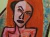 Redheaded Woman in Distress (II)